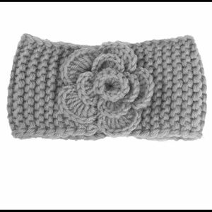 Other - Crochet baby headband with flower